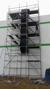 Lắp dựng giàn giáo xây dựng an toàn